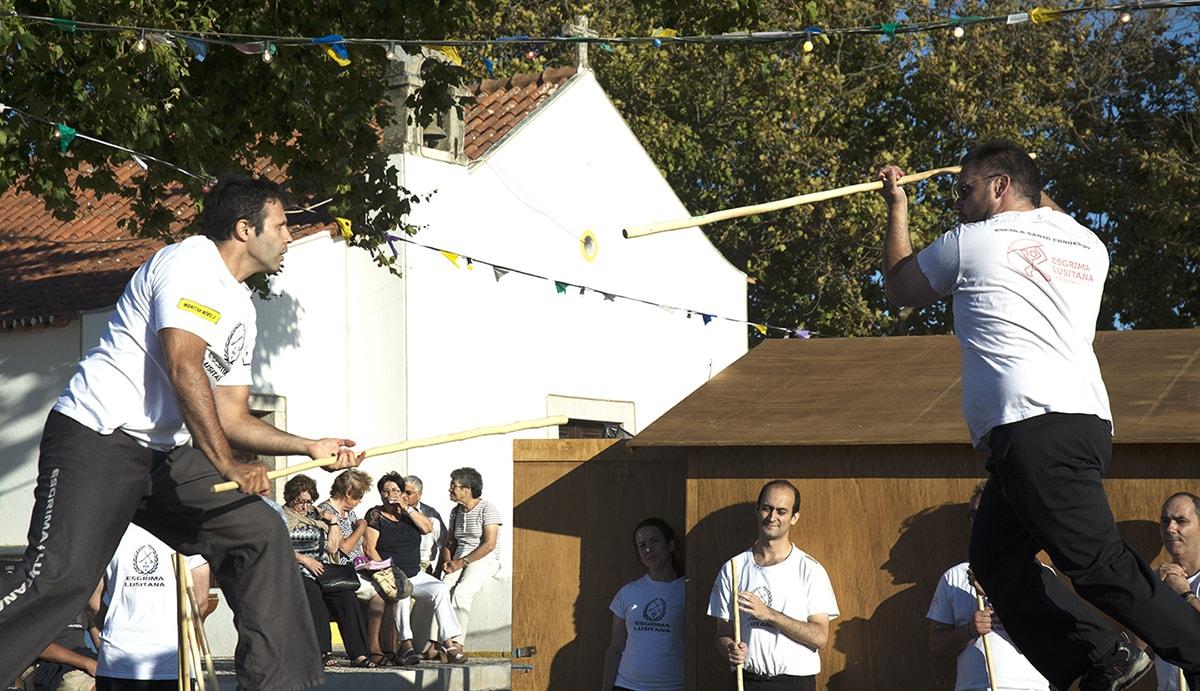 Jogo do Pau Cascais em demonstração