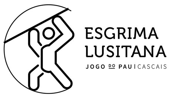logotipo esgrima lusitana cascais jogo do pau portugues