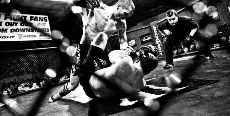 Fotos de MMA em artigo do Jogo do Pau Cascais