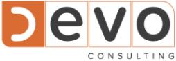 D EVO Consulting Logotipo patrocinador Esgrima Lusitana Cascais